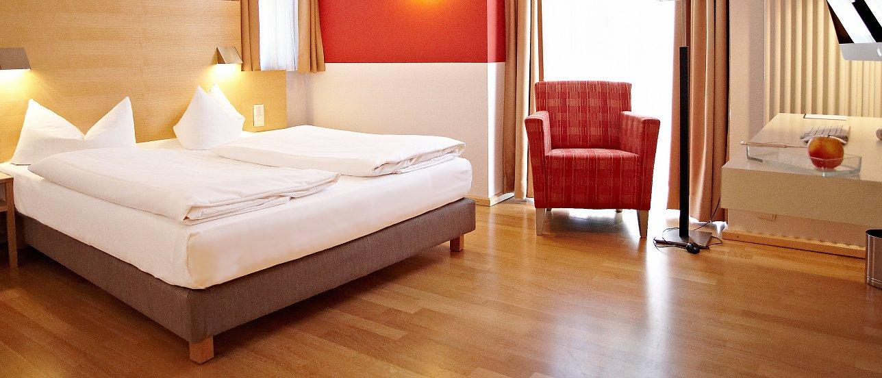 Eckerts Bamberg Hotel Nepomuk Doppelzimmer Deluxe